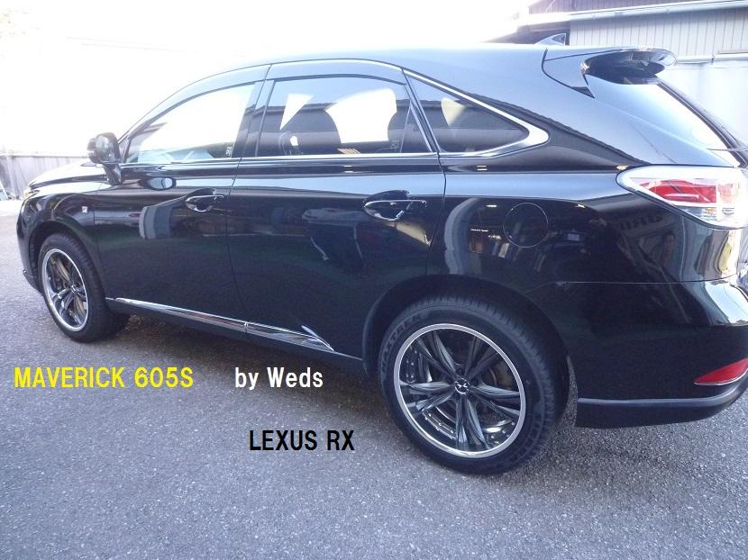 【LEXUS RX】 マーベリック605S 20インチ