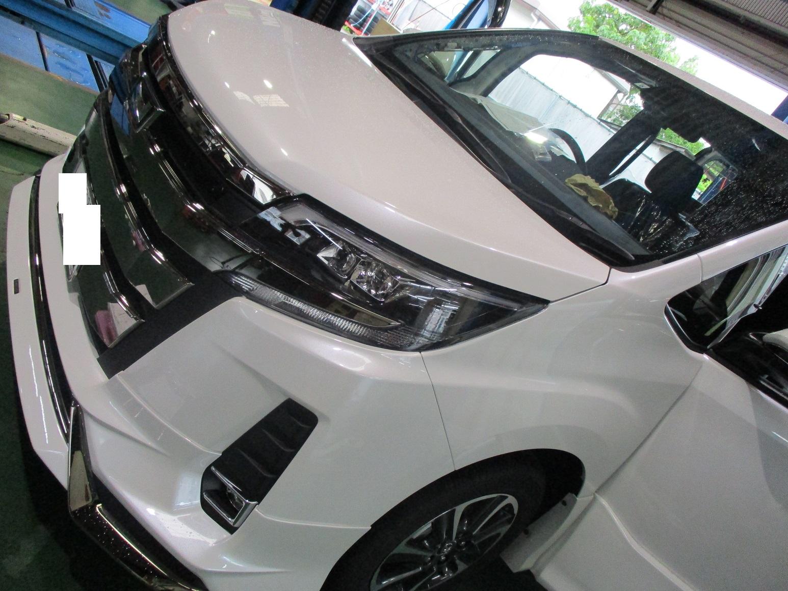 """【新車80NOAH 特別仕様車 HYBRID Si""""W×B"""" ALPINEナビ取付】"""
